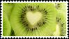heart kiwi by omnivore-daydreams