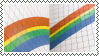 rainbow by omnivore-daydreams