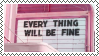 cinema  sign - everything will be fine by omnivore-daydreams