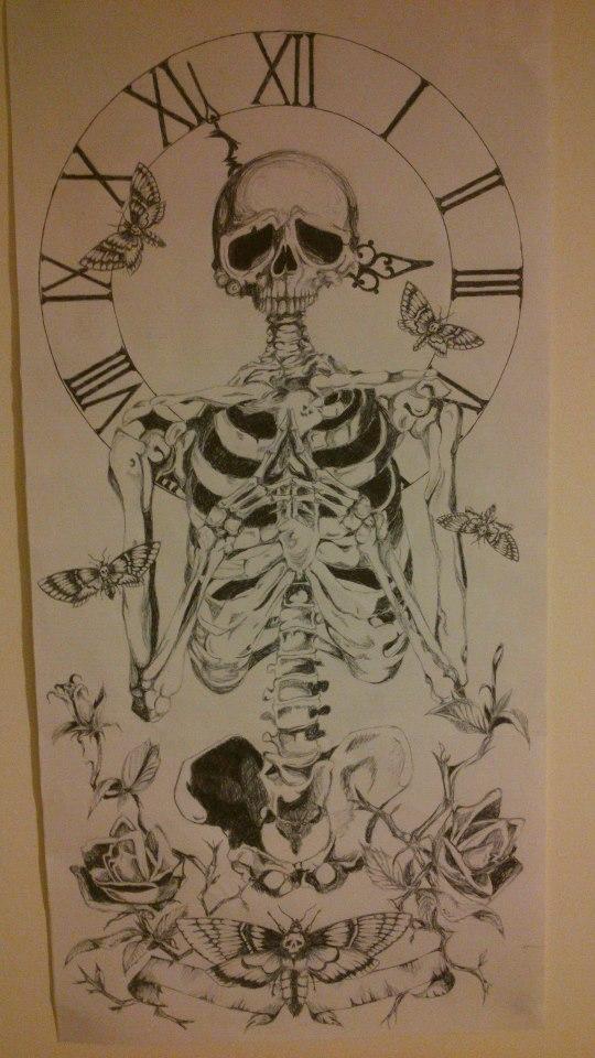 Time tattoo by joewheeldon