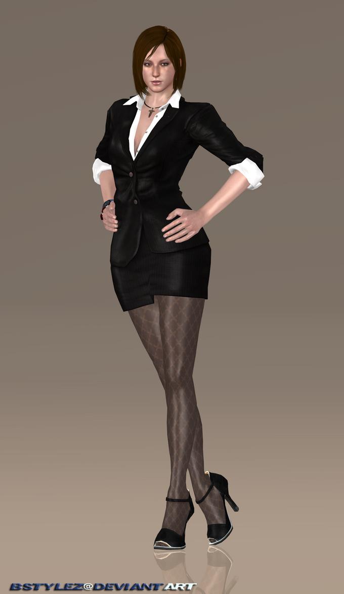 Business suit pantyhose