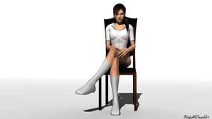 Lara Croft Socks Render