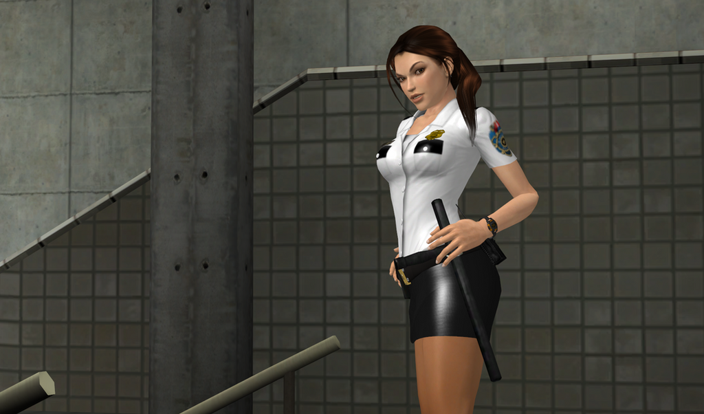 Chief of Police Lara Croft by bstylez