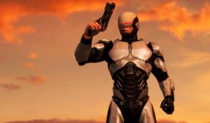 RoboCop Leon (W.I.P) by bstylez