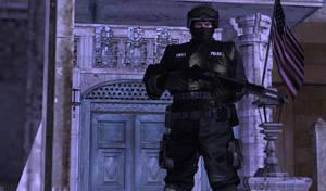 RPD Modern Swat Leon Kennedy (Updated) by bstylez