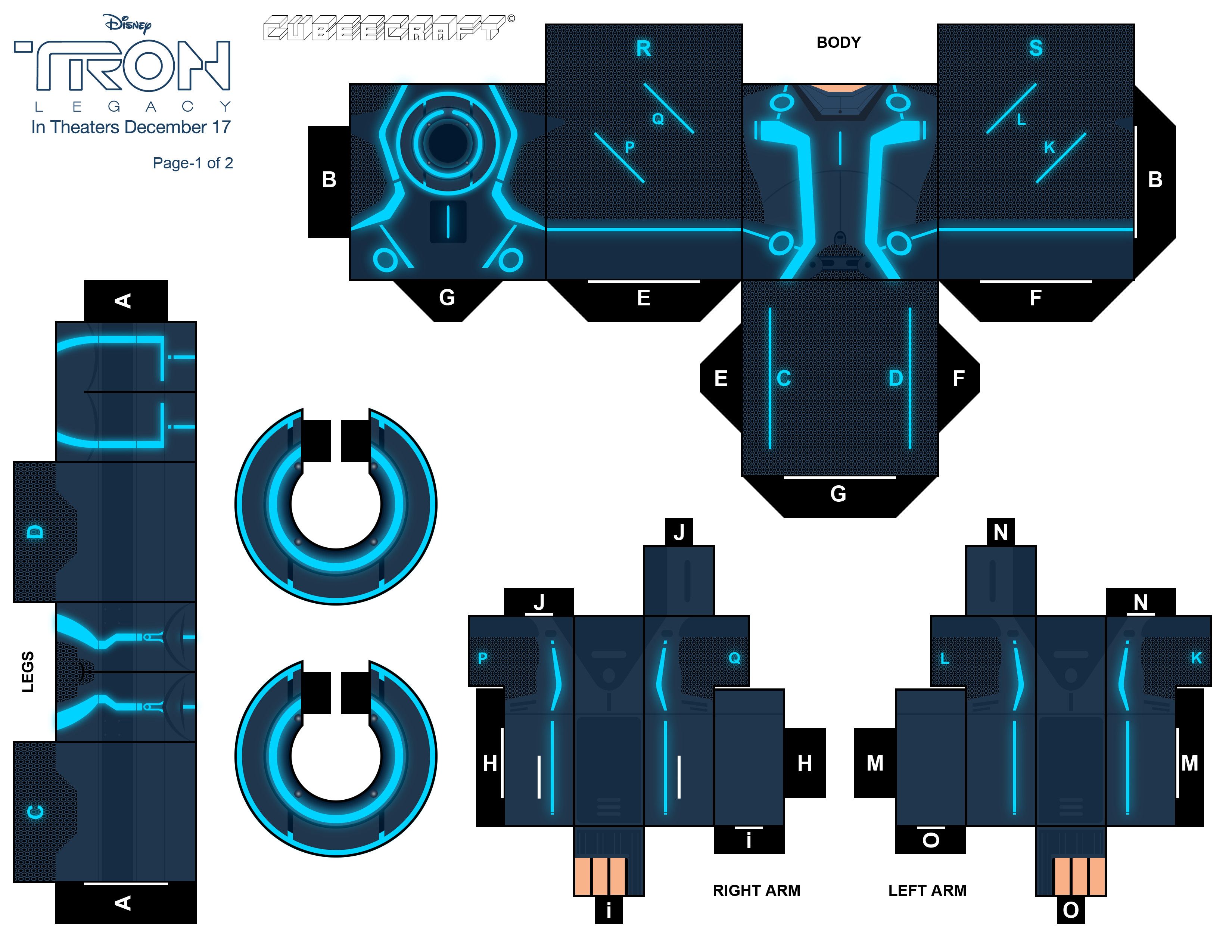 XL Tron Legacy Cubee pt1 by randyfivesix