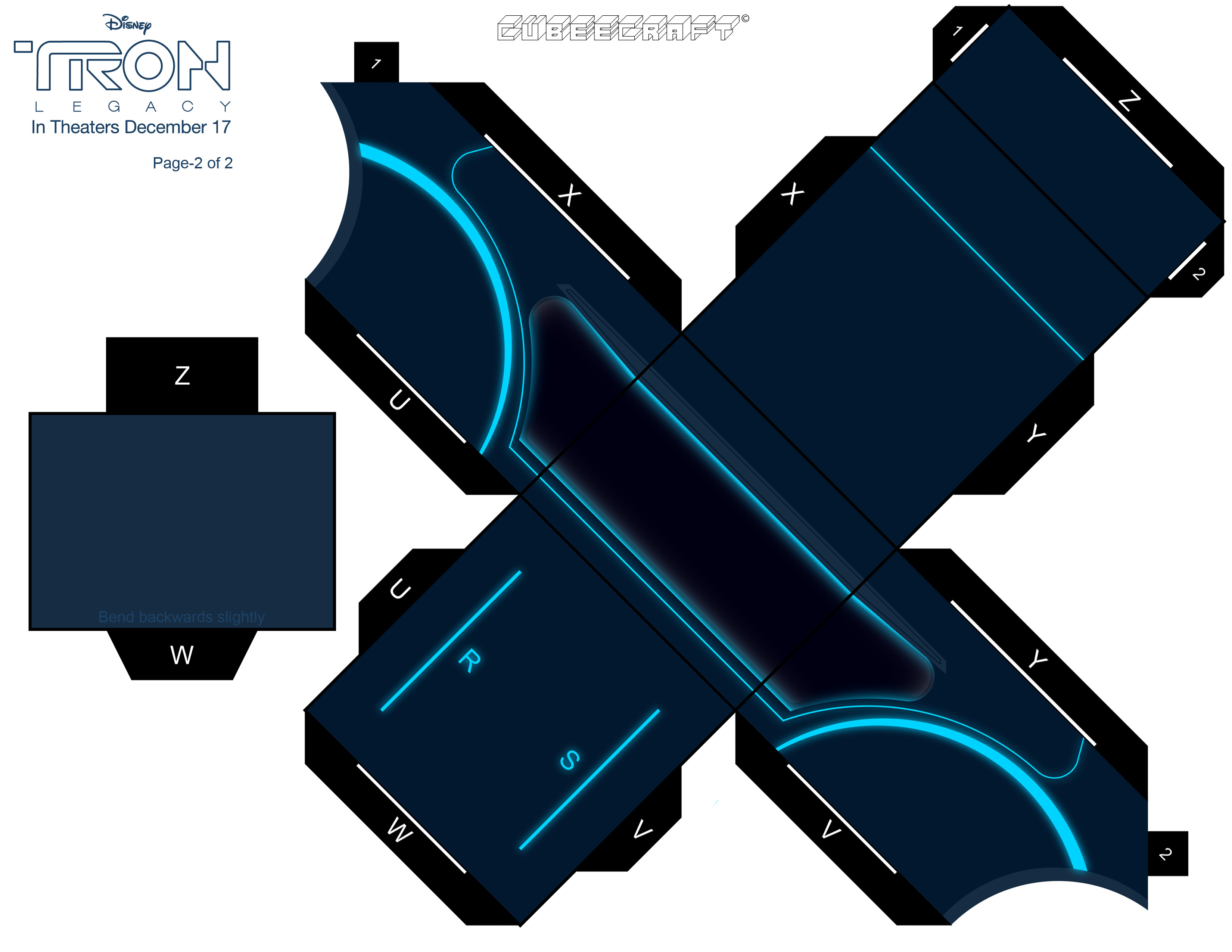 XL cubeecraft TRON LEGACY pt2 by randyfivesix
