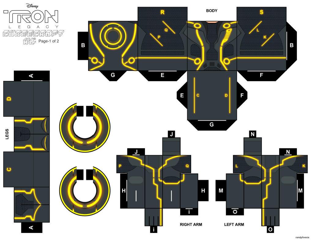 TRON CLU cubeecraft XL pt1 by randyfivesix