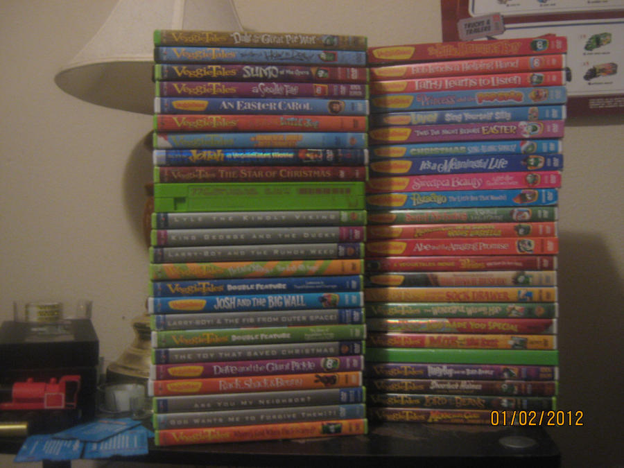 Veggietales The Star Of Christmas Vhs My VeggieTales Collection as