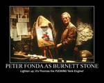 Peter Fonda in Thomas and the Magic Railroad