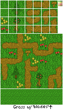 Plains Tileset by FireyFly