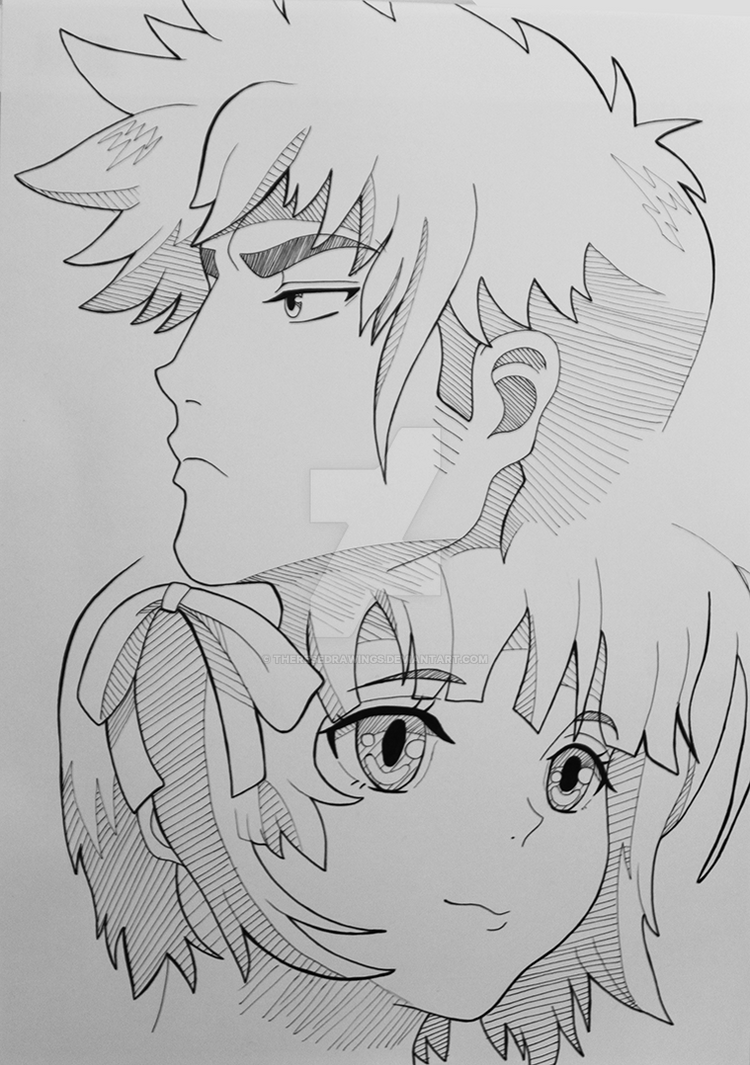 Kennosuke and Yukina by ThereseDrawings
