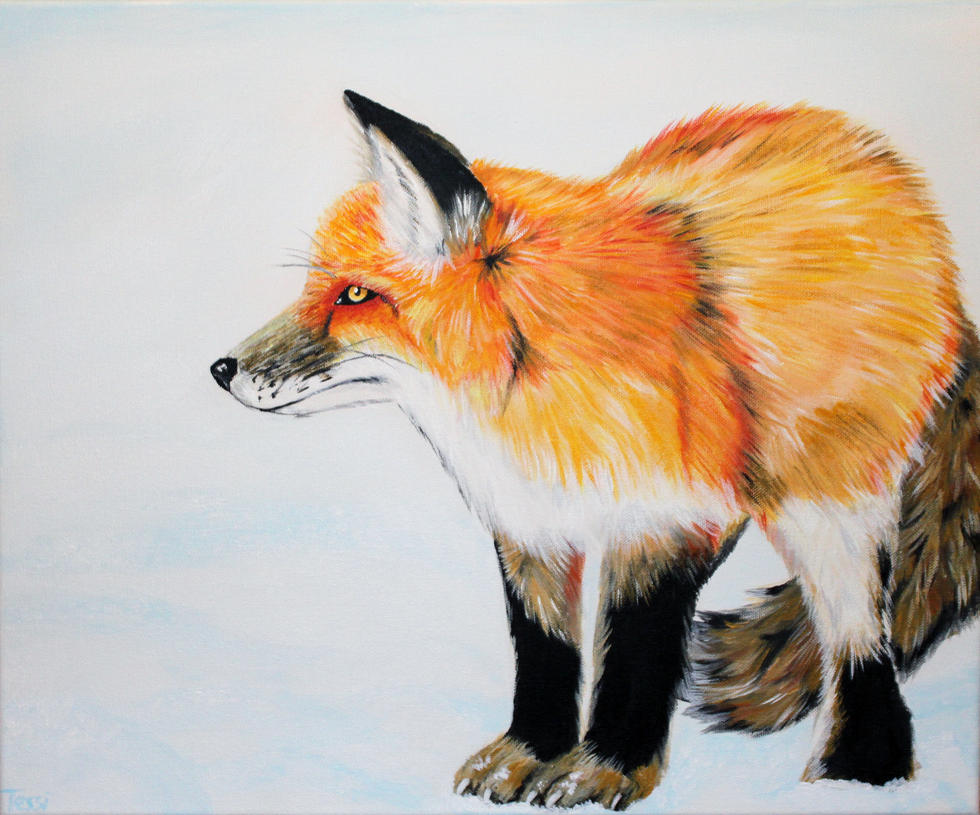 Fox by ThereseDrawings