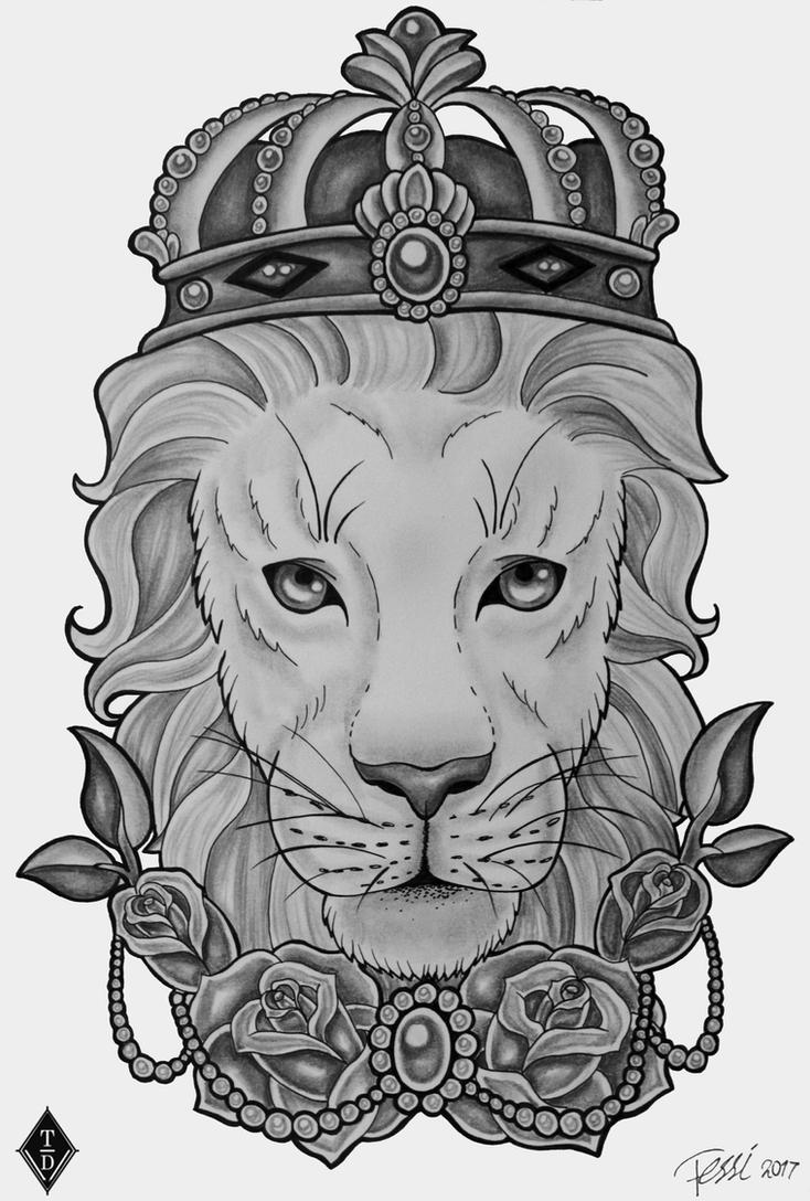Lion King by ThereseDrawings