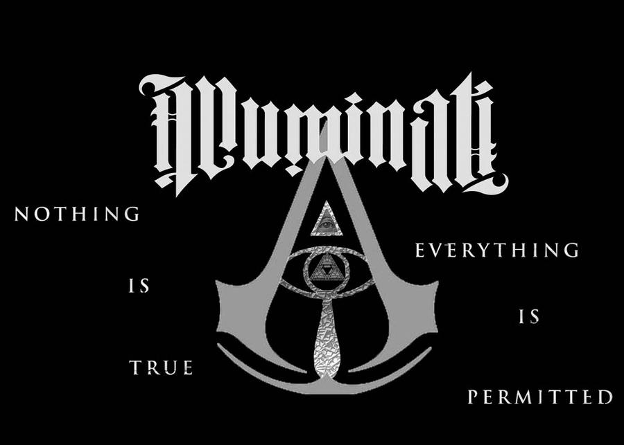 Nothing Is True Everything Assassins Creed Logo Wallpaper Permitted