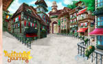 City of Oliver Otome Background