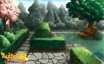 Garden Background by SKY-Morishita