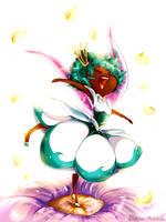 Flower Fairy Princess by SKY-Morishita