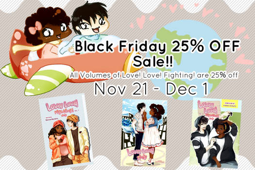 Love! Love! Fighting! Black Friday Sale!