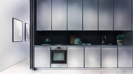 Visual Novel Kitchen Background