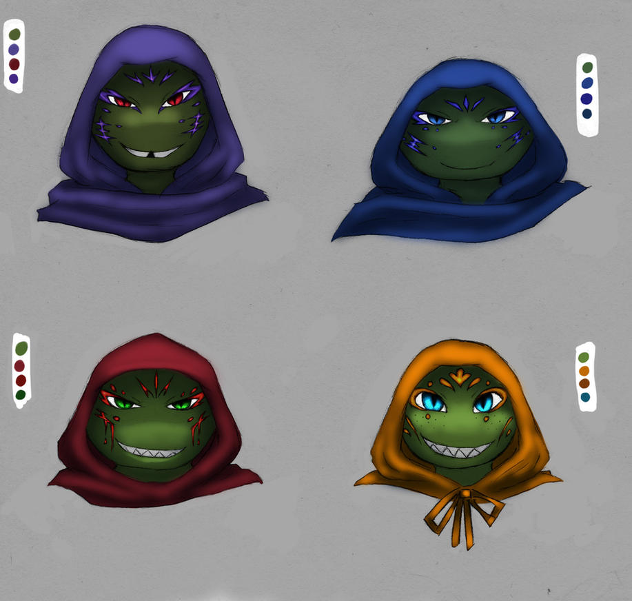 Maskless Kappas by Cicilicious