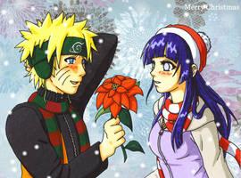Merry Christmas Hinata by grandmasterfunk