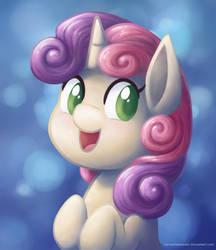 Sweetie Belle by LlamaCheesecake