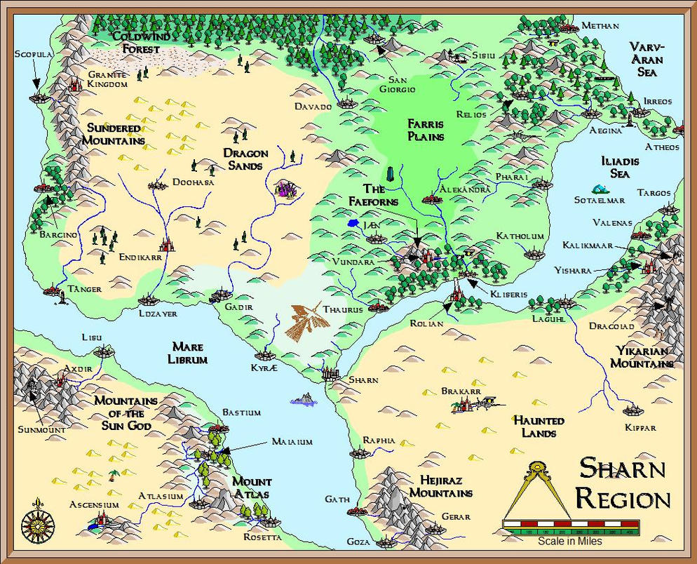 Sharn Region by Knightfall1972