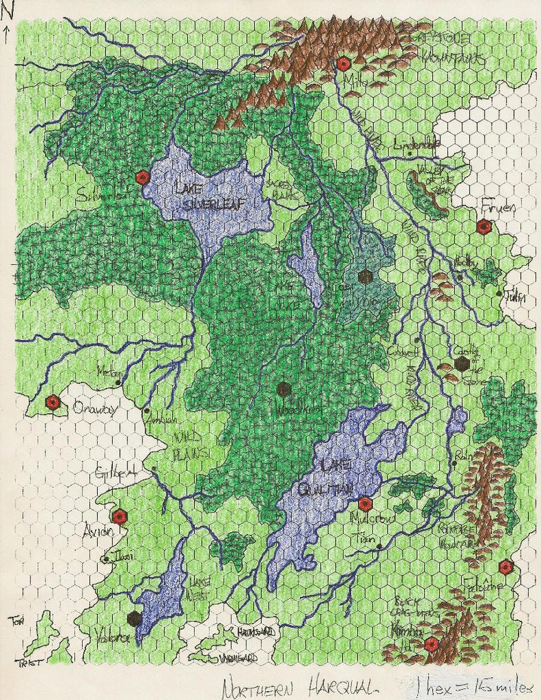 Northern Harqual (Hand-Drawn) by Knightfall1972
