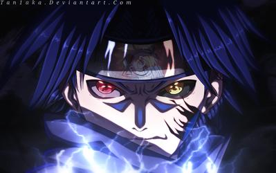 Sasuke Uchiha - Chidori by TaN1aKa