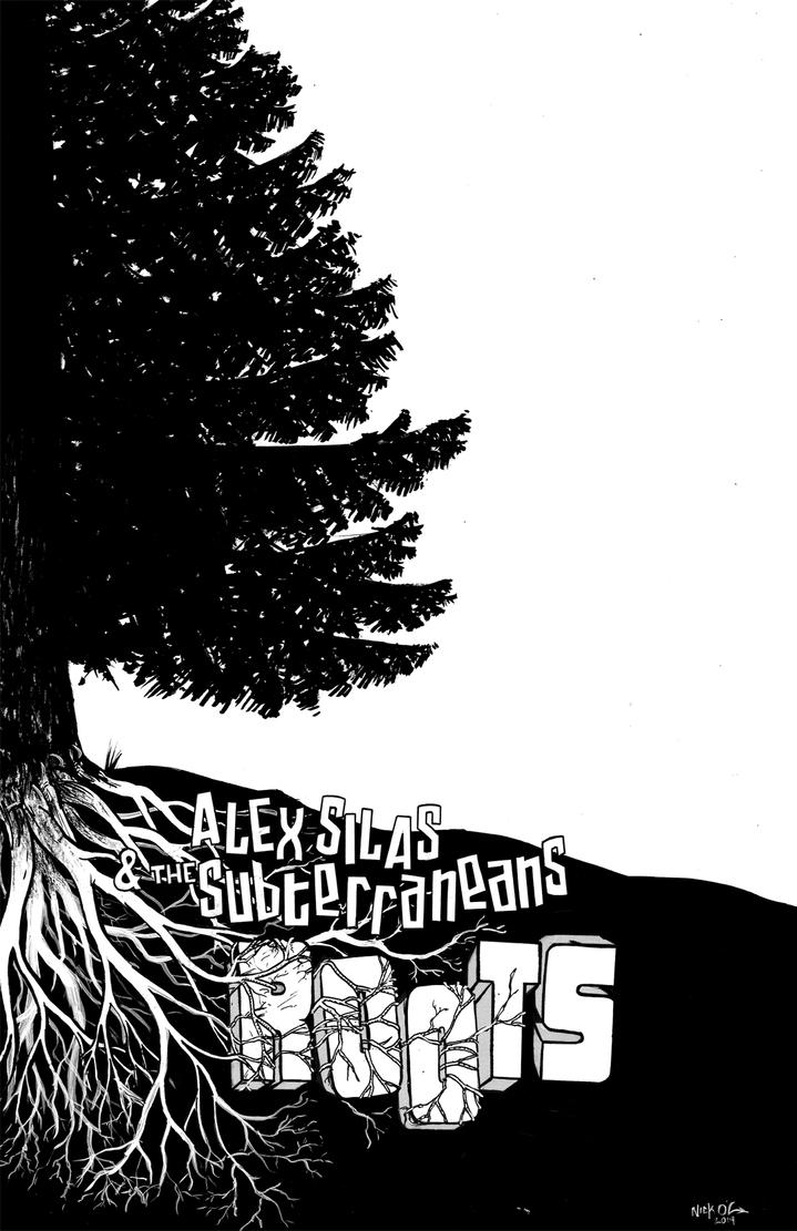 Alex Silas and the Subterraneans Roots Poster by Nick-OG