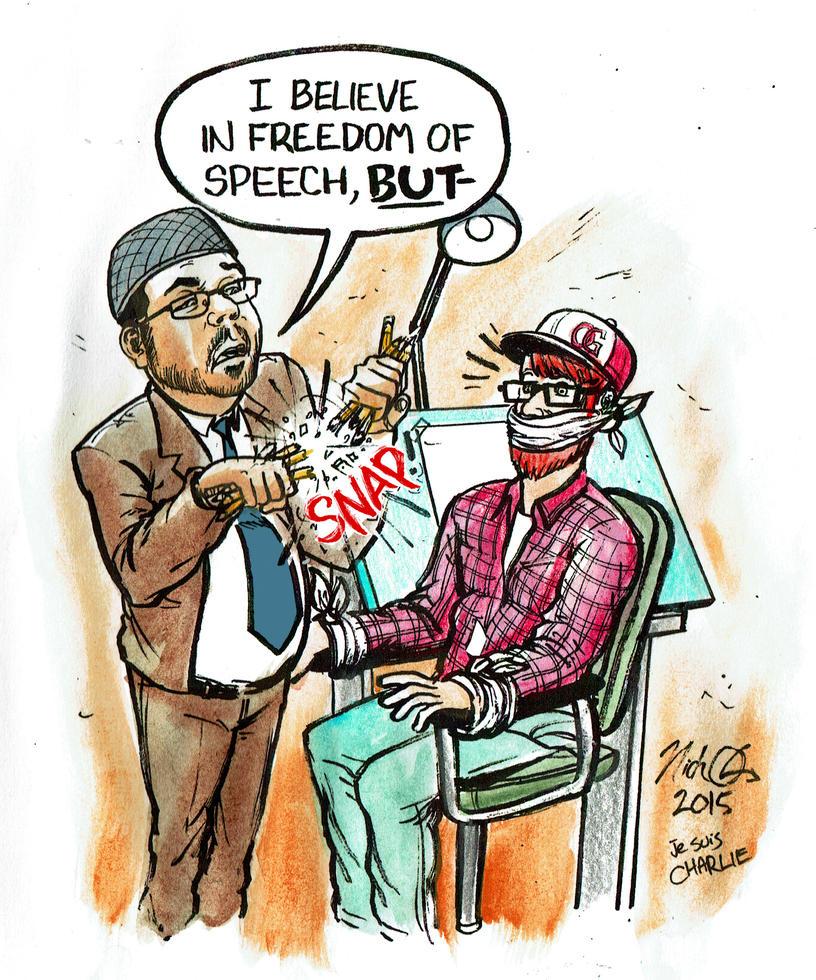 Freedom Of Speech, Imam? by Nick-OG