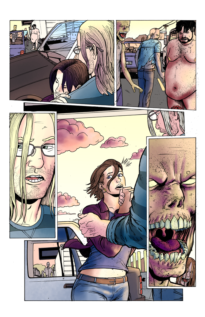 The Few Issue 2 Page 18 coloured by Nick-OG