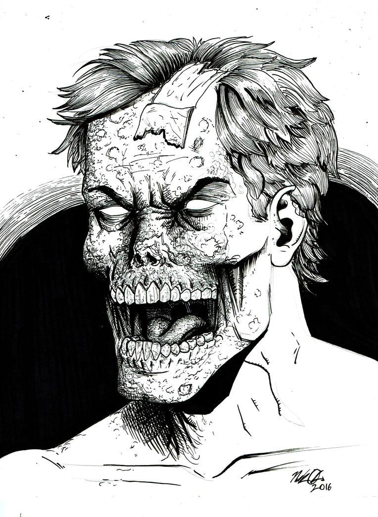 Zombie Sketch by Nick-OG