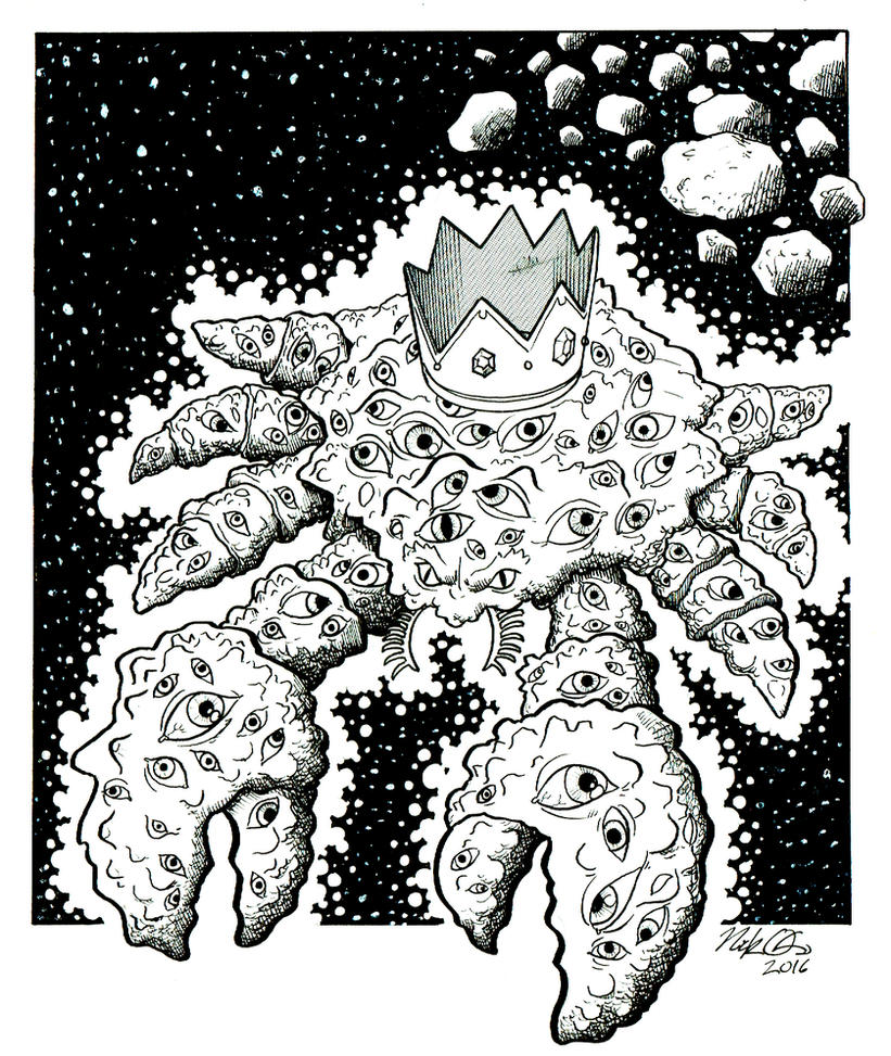 Cosmic Crab King by Nick-OG