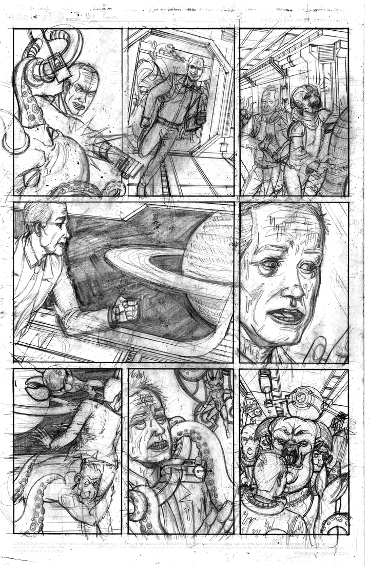 The Big Pitch Page 3 pencils by Nick-OG