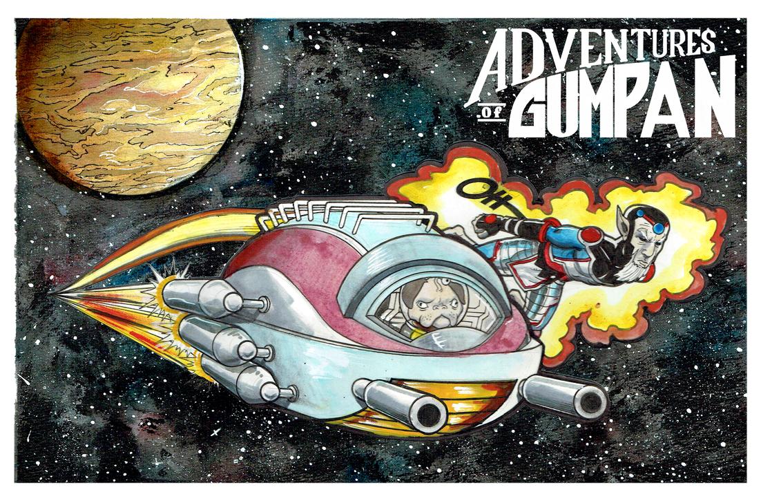 Adventures Of Gumpan2 by Nick-OG