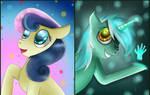 [MLP] Lyra and BonBon.