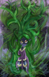 Bad hair day. by MonotoneInkwell