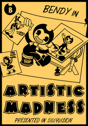 Bendy In Artistic Madness.