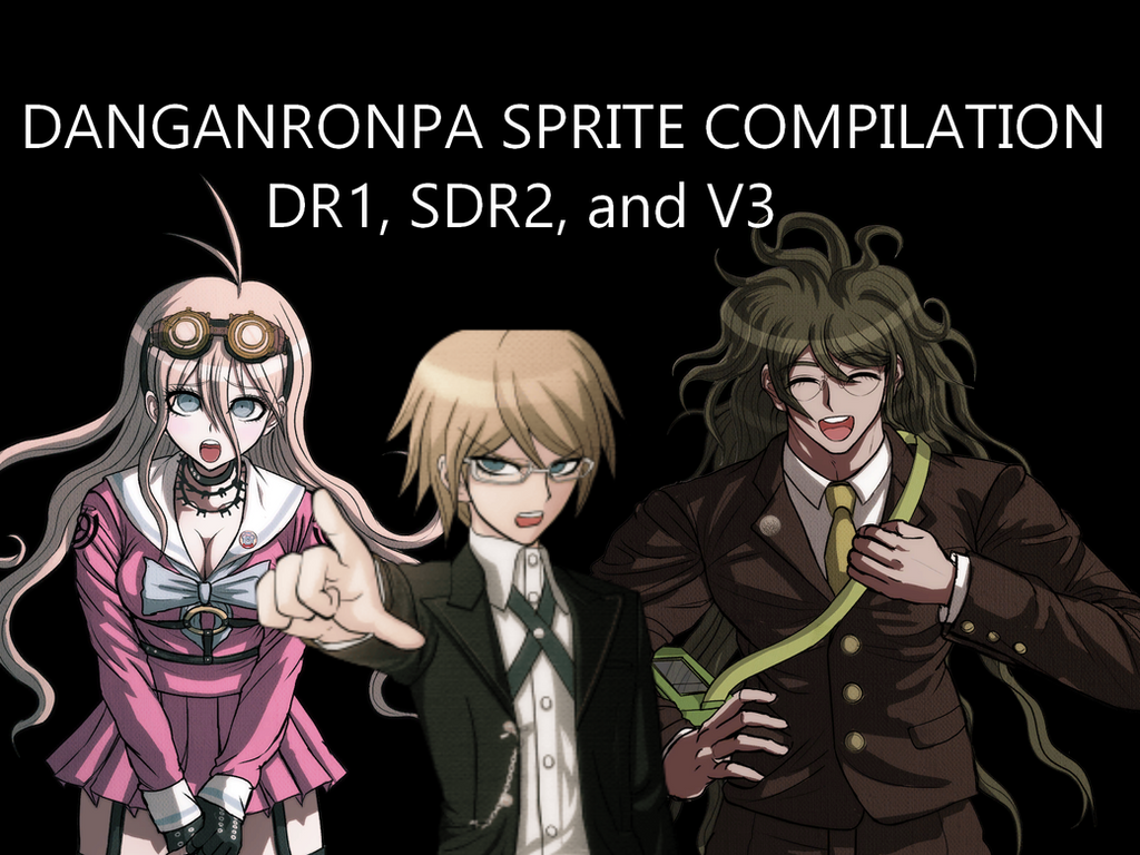 Danganronpa Sprite Compilation by EnderDurant