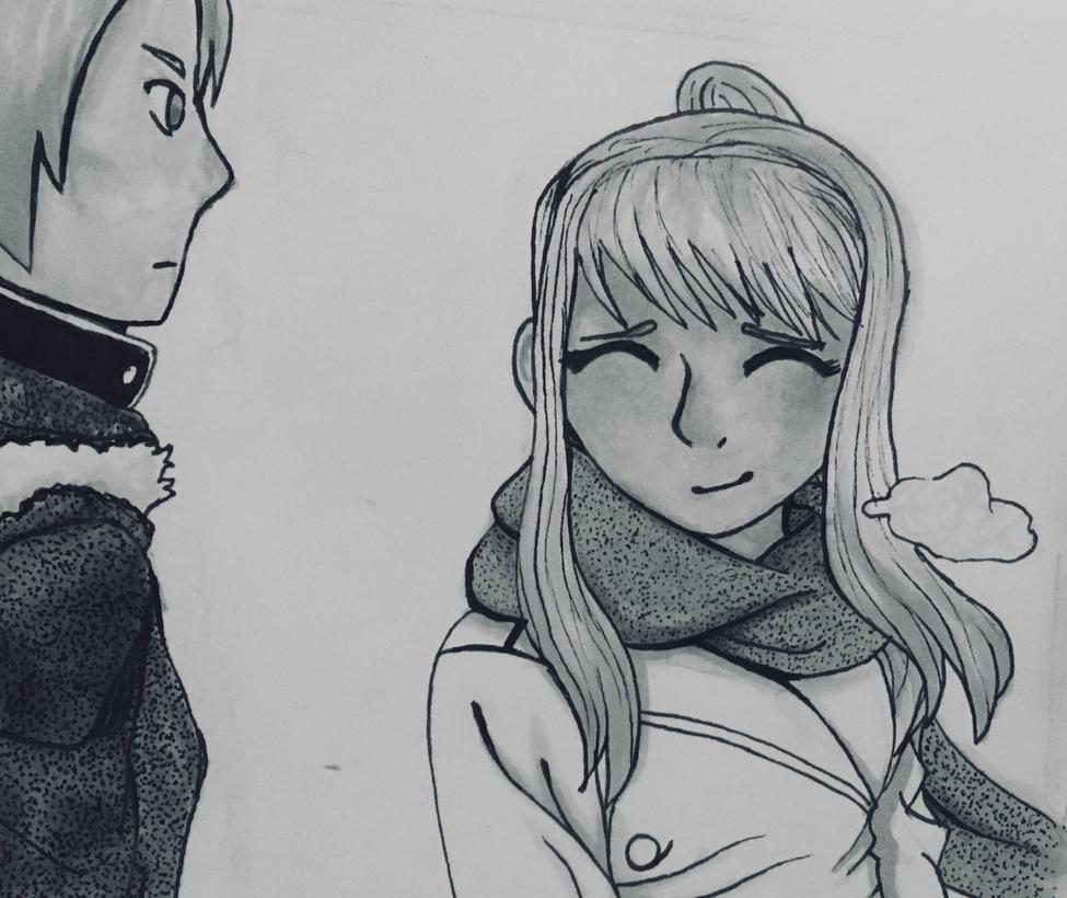 Winry Rockbell (FMA Manga Panel Redraw) by EnderDurant