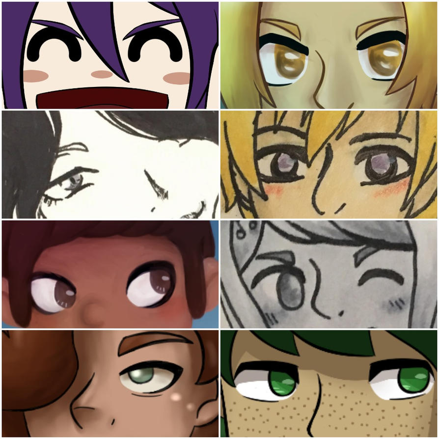 Eyes (Art meme) by EnderDurant