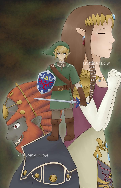 The Legend of Zelda by EnderDurant