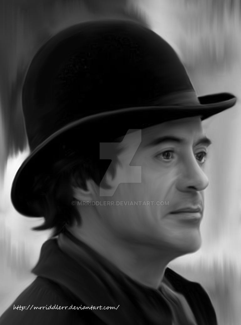 Robert Downey Jr by MrRiddlerr