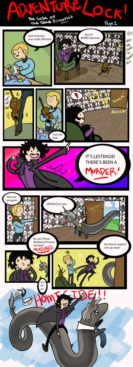 SherlockTime: The Case of the Dead Princesses by Not-TheDoctor