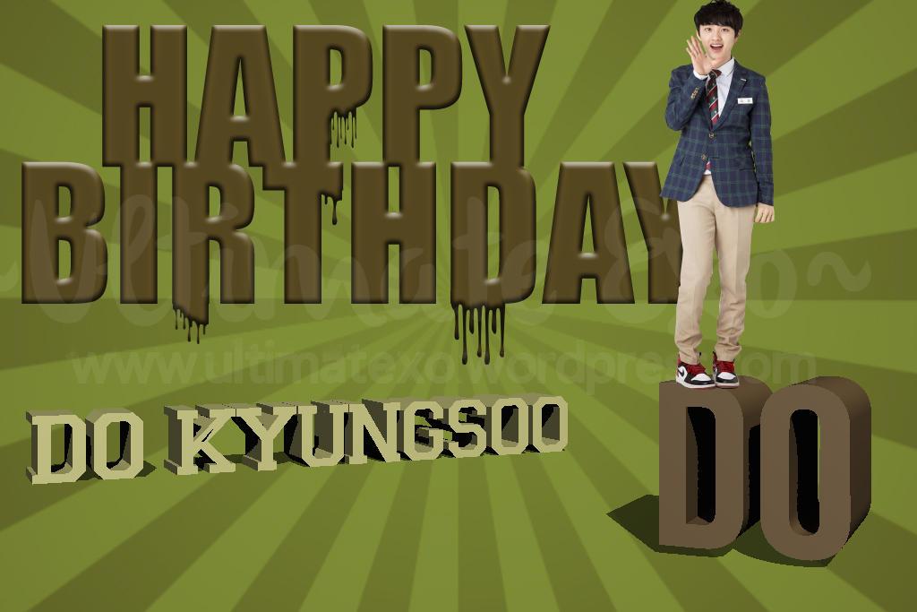 Happy Birthday D.O!!