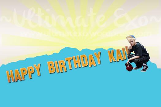 *LATE POST* HAPPY BIRTHDAY KAI!!