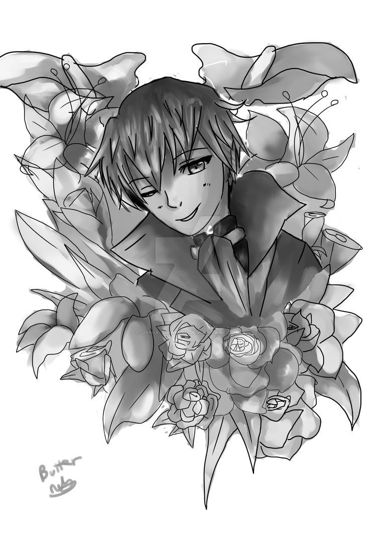Zen with flowers by Janix-Tiramisu