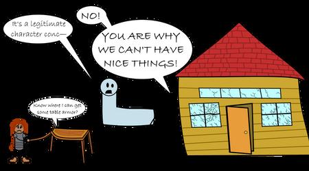 Negative Level Adjustments: Animated Objects